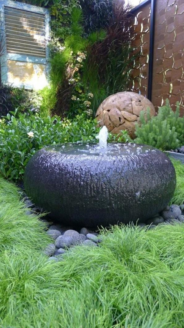 14 Gartengestaltung Beispiele Dafür Wie Ihr Feng Shui Garten Noch von Wasserspiel Garten Stein Photo