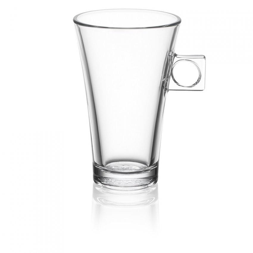 2 Doorzichtige Latte Macchiato Tassen  Accessoires  Nescafé® Dolce von Kaffeetassen Set Glas Bild