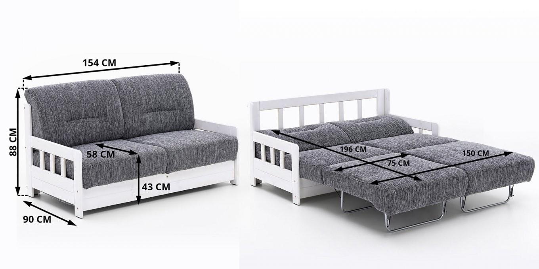 2 Sitzer Sofa Mit Schlaffunktion Atemberaubend Auf Kreative Deko von 2 Sitzer Sofa Mit Bettfunktion Bild