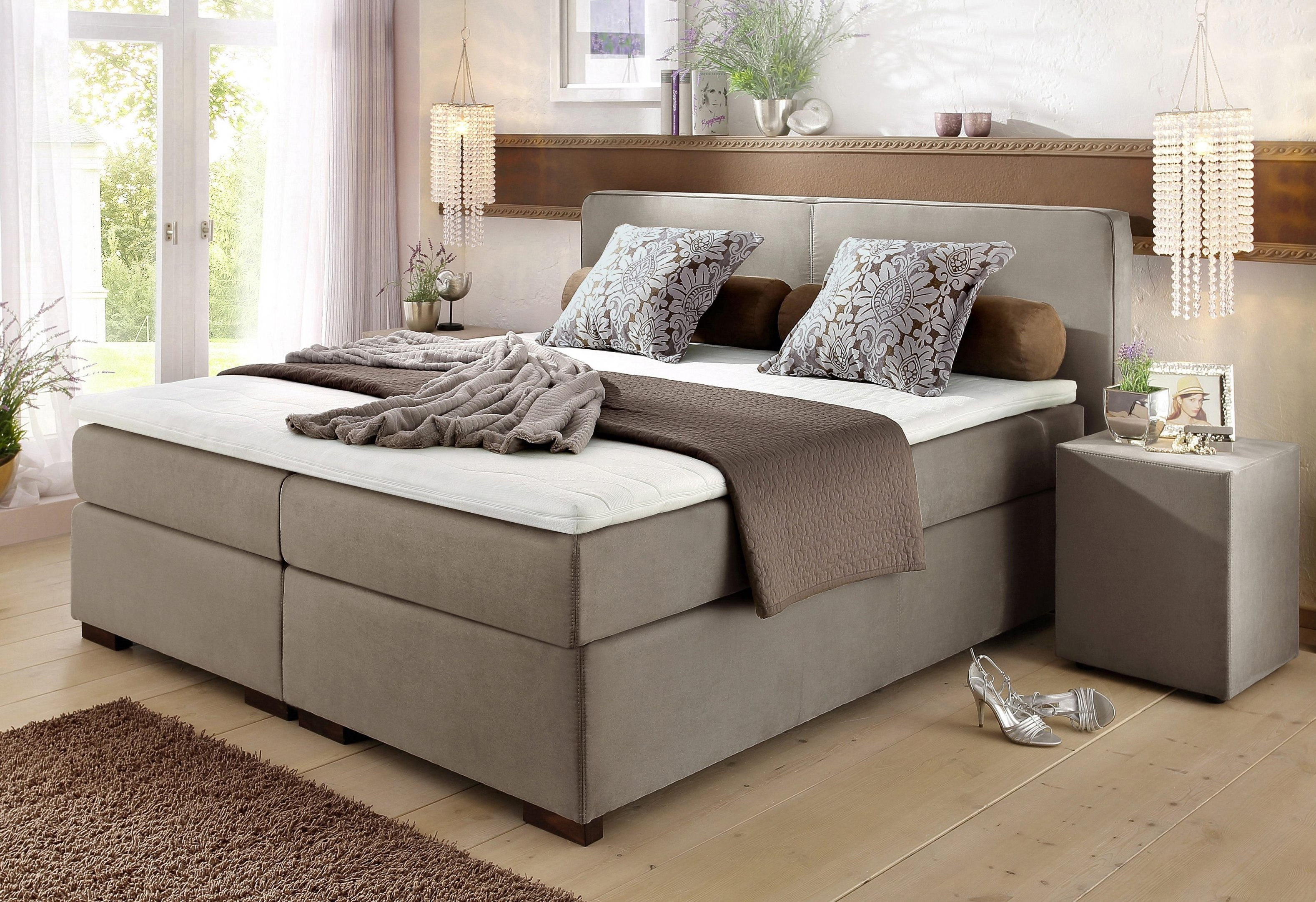 20% Sparen  Boxspringbett Romantica Inkl Topper+Kissen  Ab 79999 von Boxspring Bett Home Affaire Romantica Photo