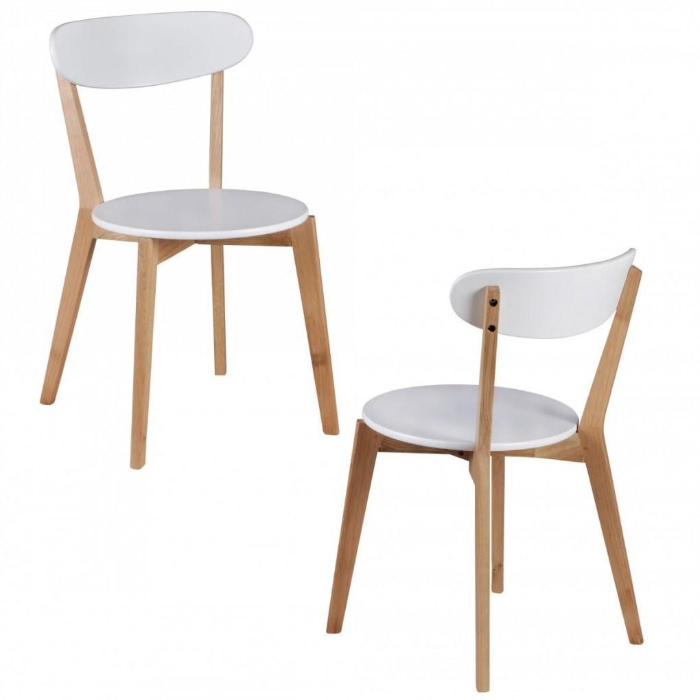 2Er Set Esszimmerstühle Scanio Mdf Weiß Design Holzstühle Retro von Skandinavische Esszimmerstühle Photo