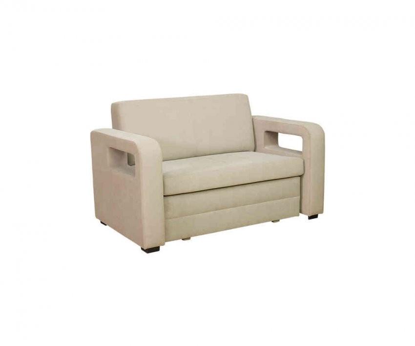 2Sitzer Sofa Karmen Mit Bettkasten Und Schlaffunktion In Beige von 2 Sitzer Sofa Mit Schlaffunktion Bettkasten Bild