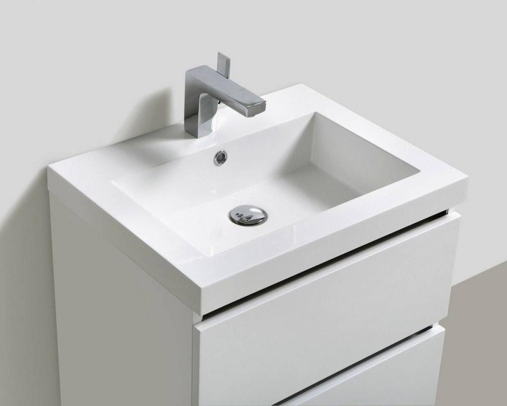 34 Schön Waschbeckenunterschrank Für Aufsatzwaschbecken von Kleines Waschbecken Mit Unterschrank Für Gäste Wc Photo