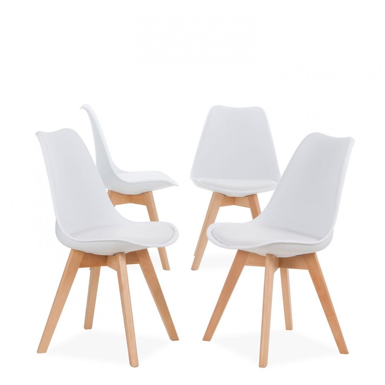 4 Skandinavische Stühle Tulipa (Packs) von Skandinavische Esszimmerstühle Bild