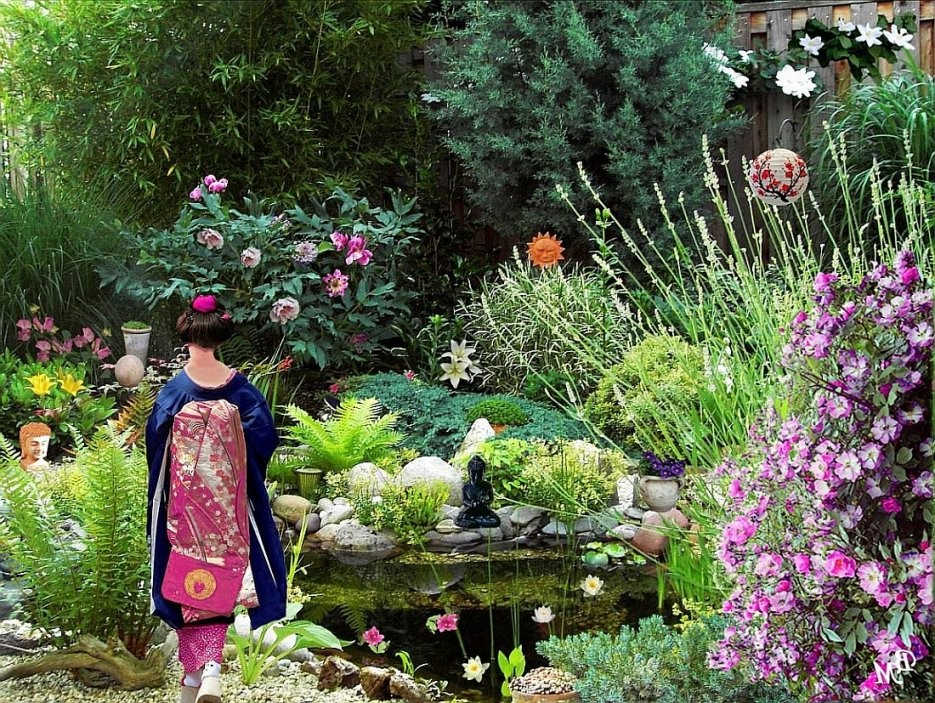 50 Ideen Wie Sie Japanische Gärten Gestalten  Garten  Zenideen von Japanischer Garten Selbst Anlegen Bild