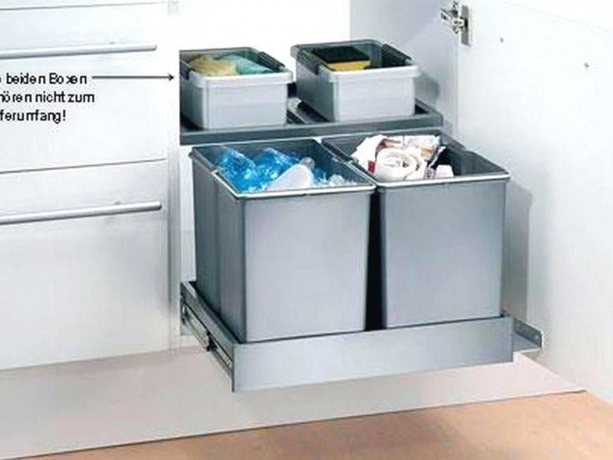 Abfalleimer Design Küche  46 Groß Mülleimer Einbau Unterschrank Für von Design Mülleimer Küche Bild