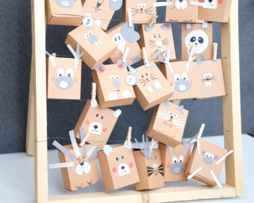Adventskalender Aus Holz Basteln Mit Twercs Und Limmaland von Adventskalender Selber Machen Kinder Bild