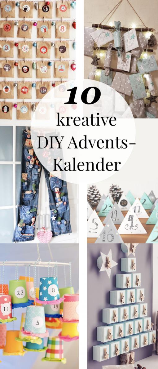 Adventskalender Basteln  10 Kreative Bastelideen  Adventskalender von Adventskalender Für Frauen Selber Machen Bild