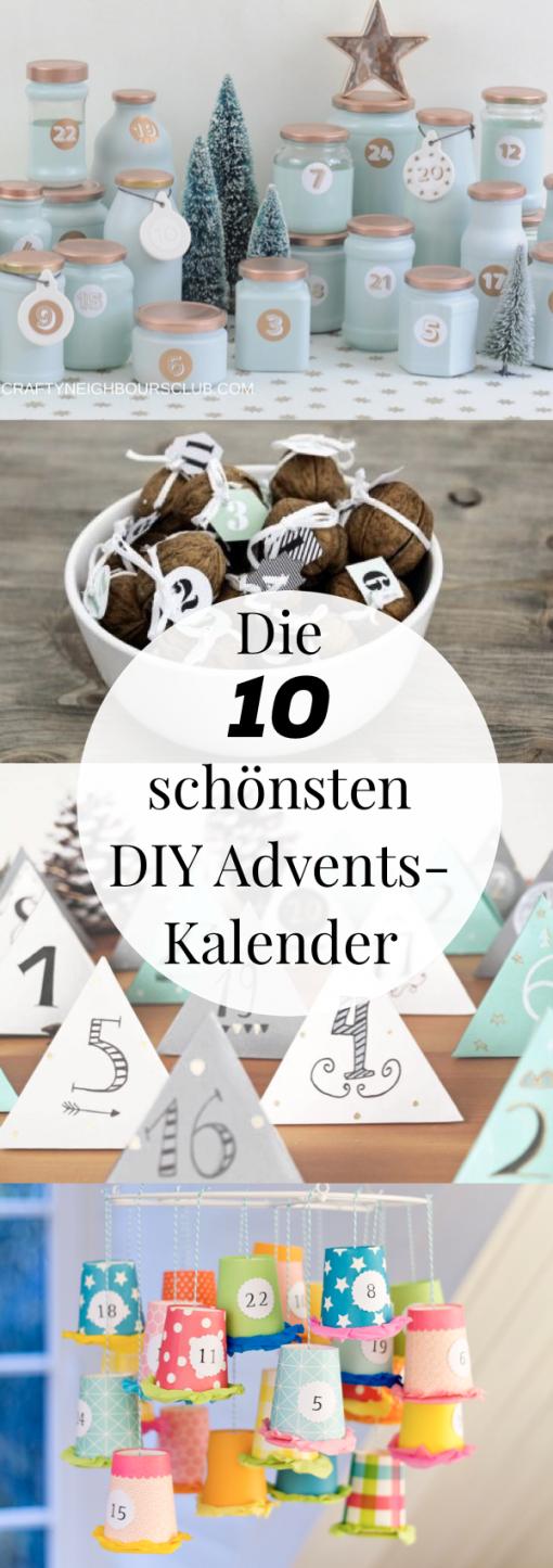 Adventskalender Basteln  10 Kreative Bastelideen  Diy Ideen von Adventskalender Für Frauen Selber Machen Bild