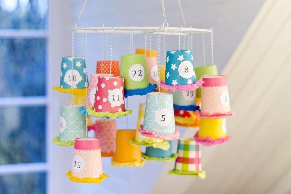 Adventskalender Basteln  10 Kreative Bastelideen von Baby Adventskalender Selber Machen Bild