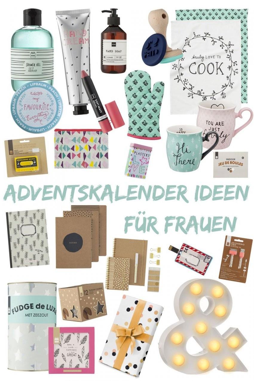 Adventskalender Befüllen – Ideen Für Frauen  Christmas  Pinterest von Adventskalender Für Frauen Selber Machen Bild
