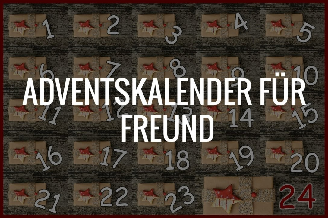 Adventskalender Für Freund 2018 Online Kaufen  Produkte & Angebote von Adventskalender Für Freund Selber Machen Bild