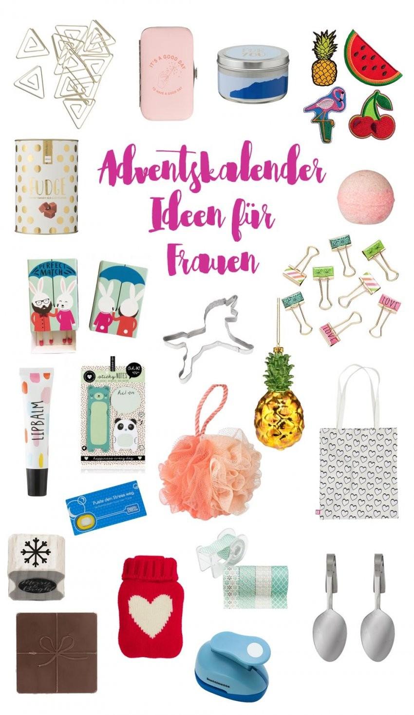 Adventskalender Geschenkideen Für Frauen von Adventskalender Frauen Selber Machen Bild