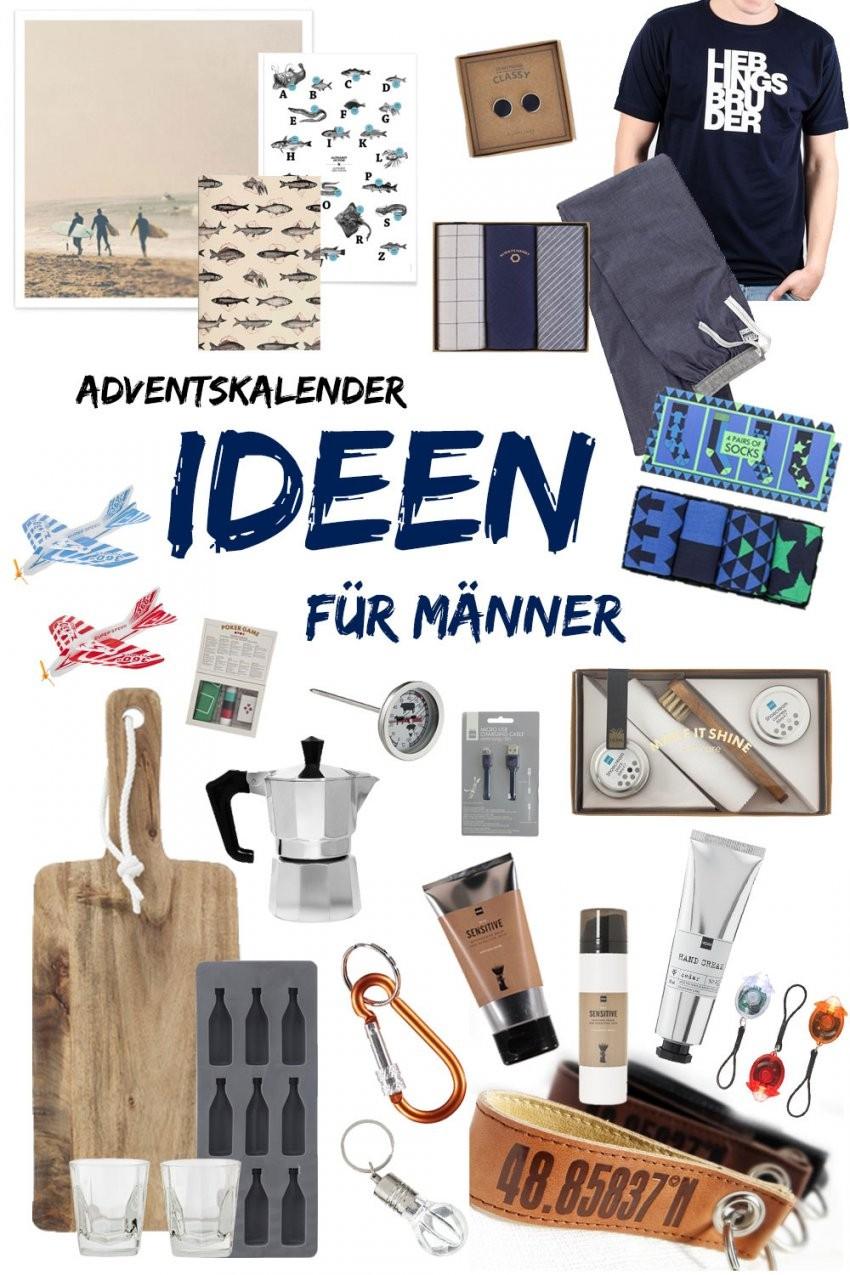 Adventskalender Ideen Für Männer  24 Kleine Geschenke von Adventskalender Für Freund Selber Machen Bild