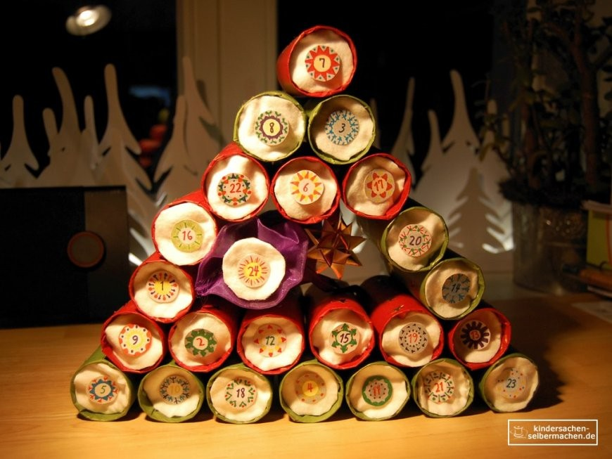 Adventskalender Selber Basteln – Kindersachen Selbermachen von Bier Adventskalender Selber Machen Photo