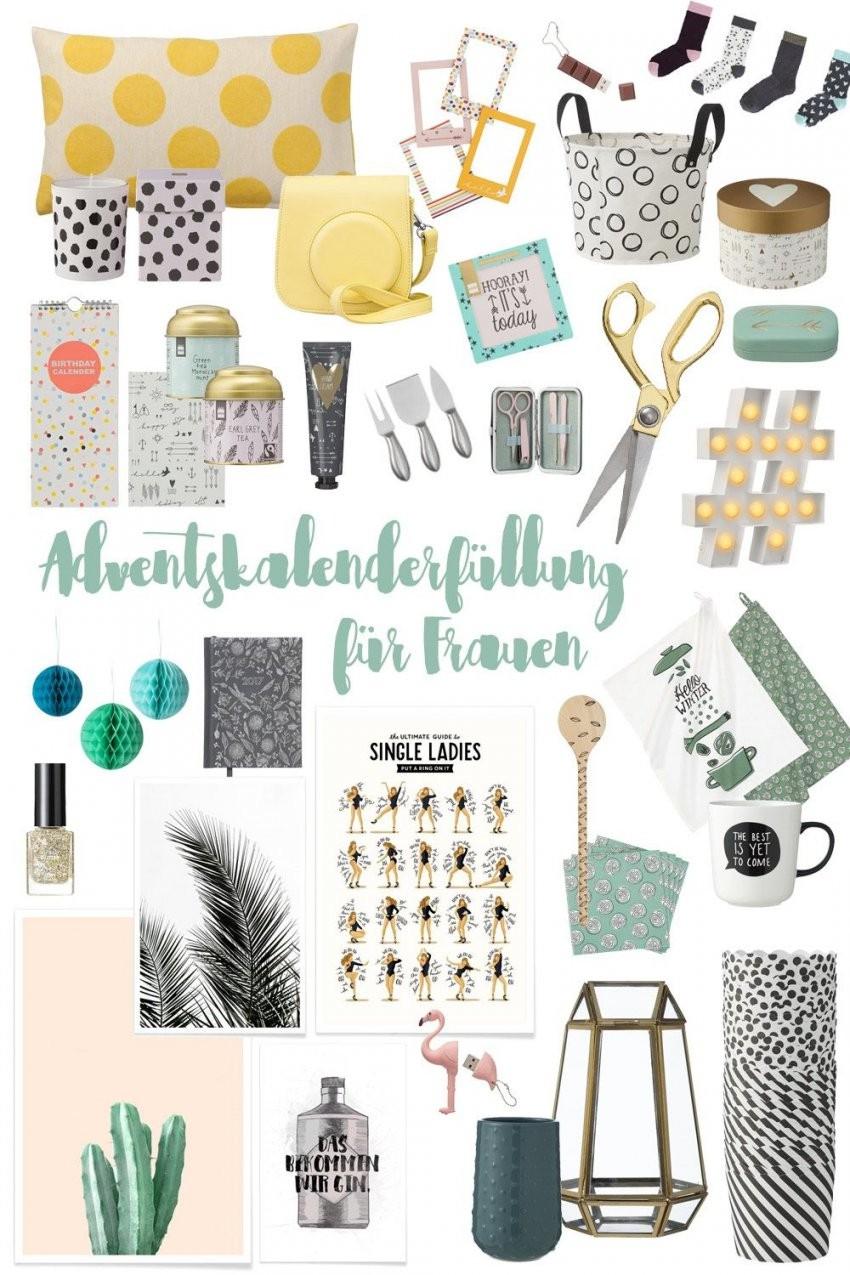 Adventskalenderfüllung Für Frauen  Kleine Geschenkideen von Adventskalender Für Frauen Selber Machen Photo