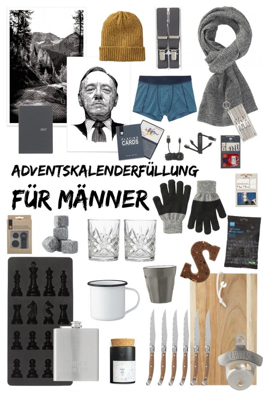 Adventskalenderfüllung Für Männer  Kleine Geschenkideen U Tipps von Adventskalender Selber Machen Für Männer Photo