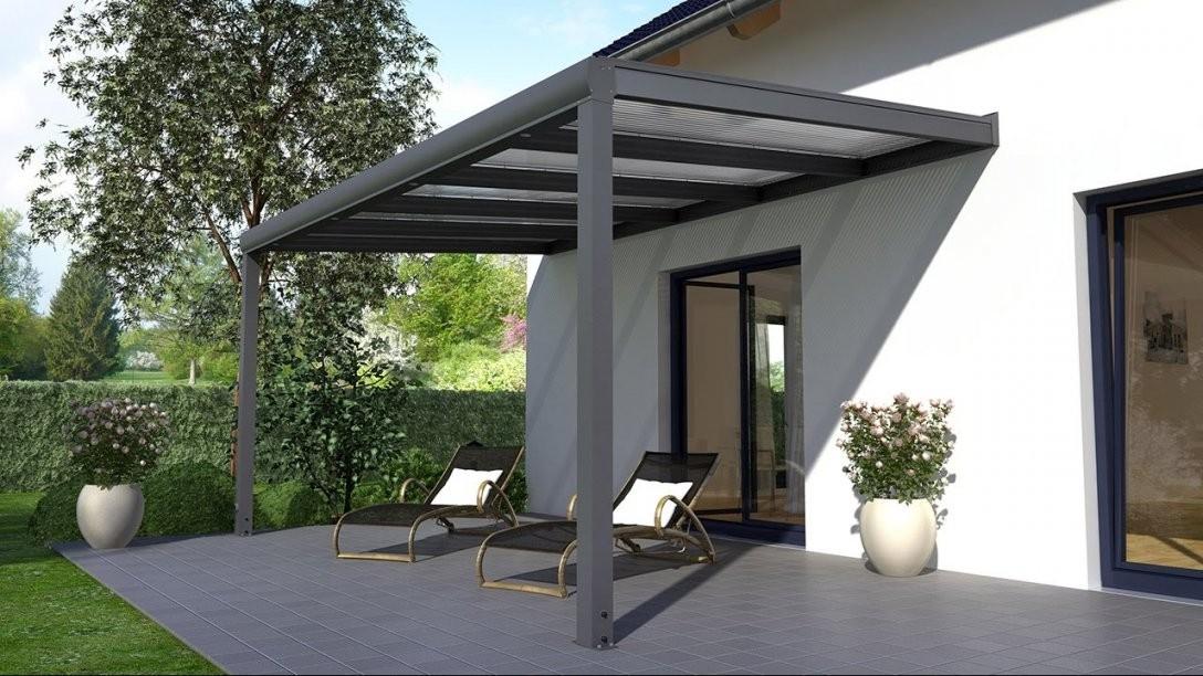 Alu Terrassenüberdachung Aufbauanleitung (Rexopremium von Terrassenüberdachung Glas Selber Bauen Bild
