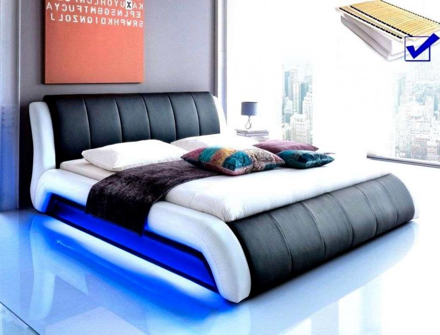 Architektur Bett Mit Led 140X200 Schon 19 180X200 Lattenrost Und von Bett Mit Led Beleuchtung 180X200 Bild
