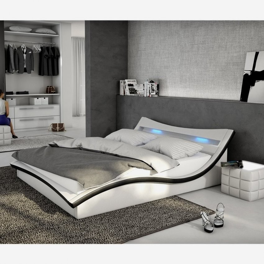 Architektur Bett Mit Matratze 180X200 Lattenrost Gunstig Unds von Led Bett Mit Matratze Photo