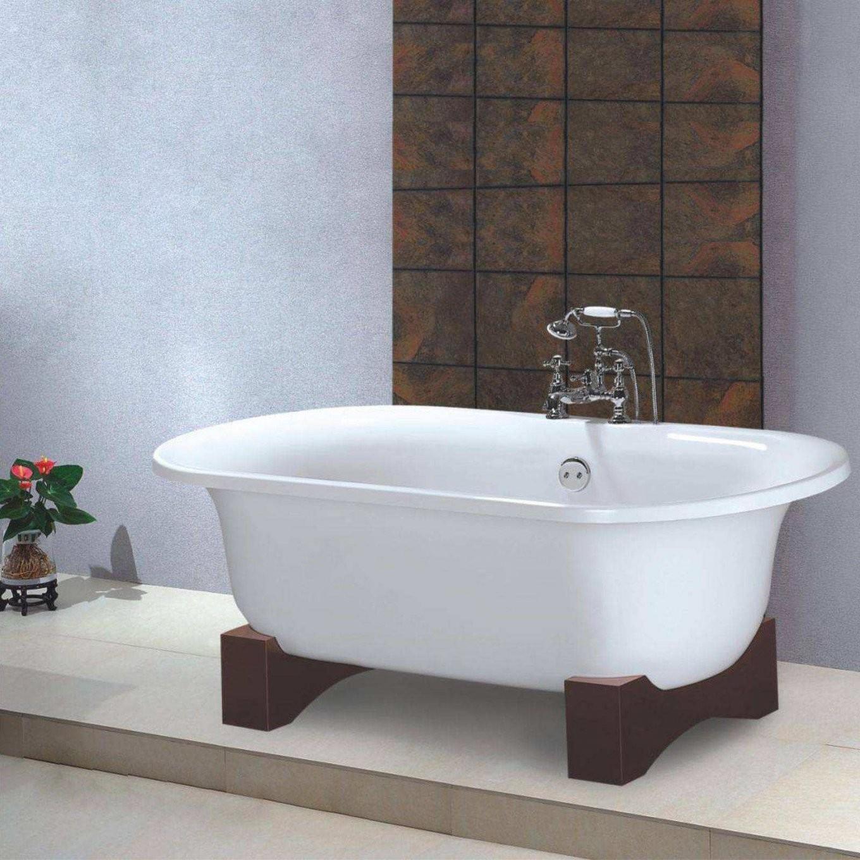 Armatur Freistehende Badewanne Freistehende Retro Badewanne Acryl von Freistehende Badewanne Antik Bild