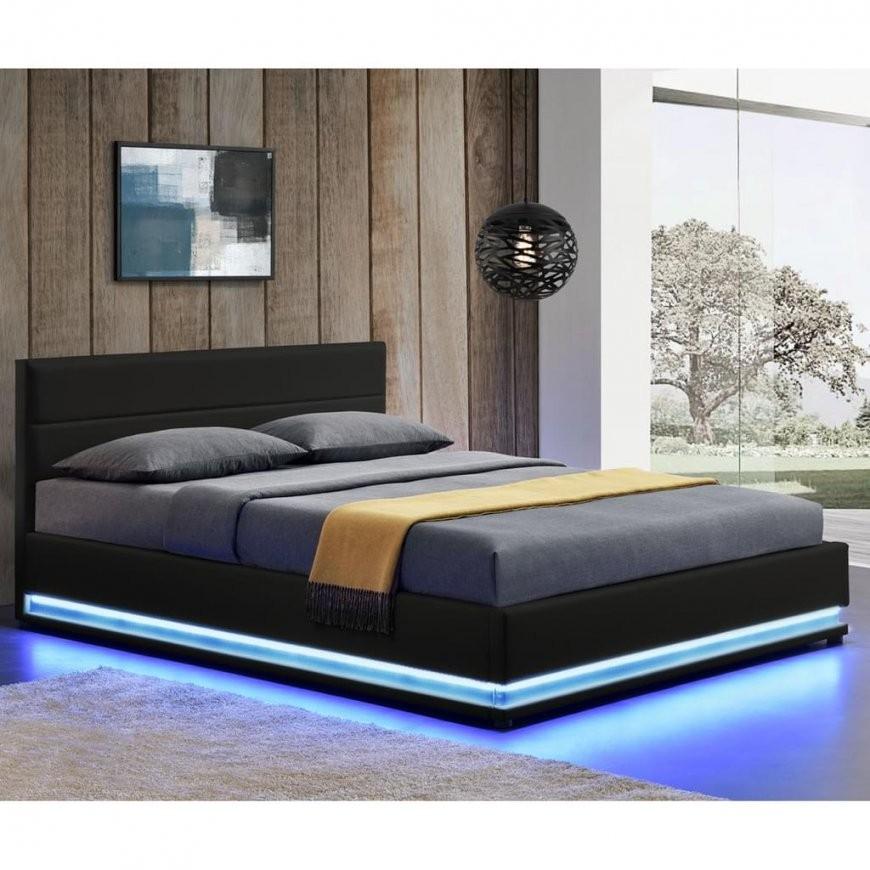 Artlife Polsterbett Toulouse 140 X 200 Cm Mit Rundum  Real von Led Bett Mit Matratze Bild
