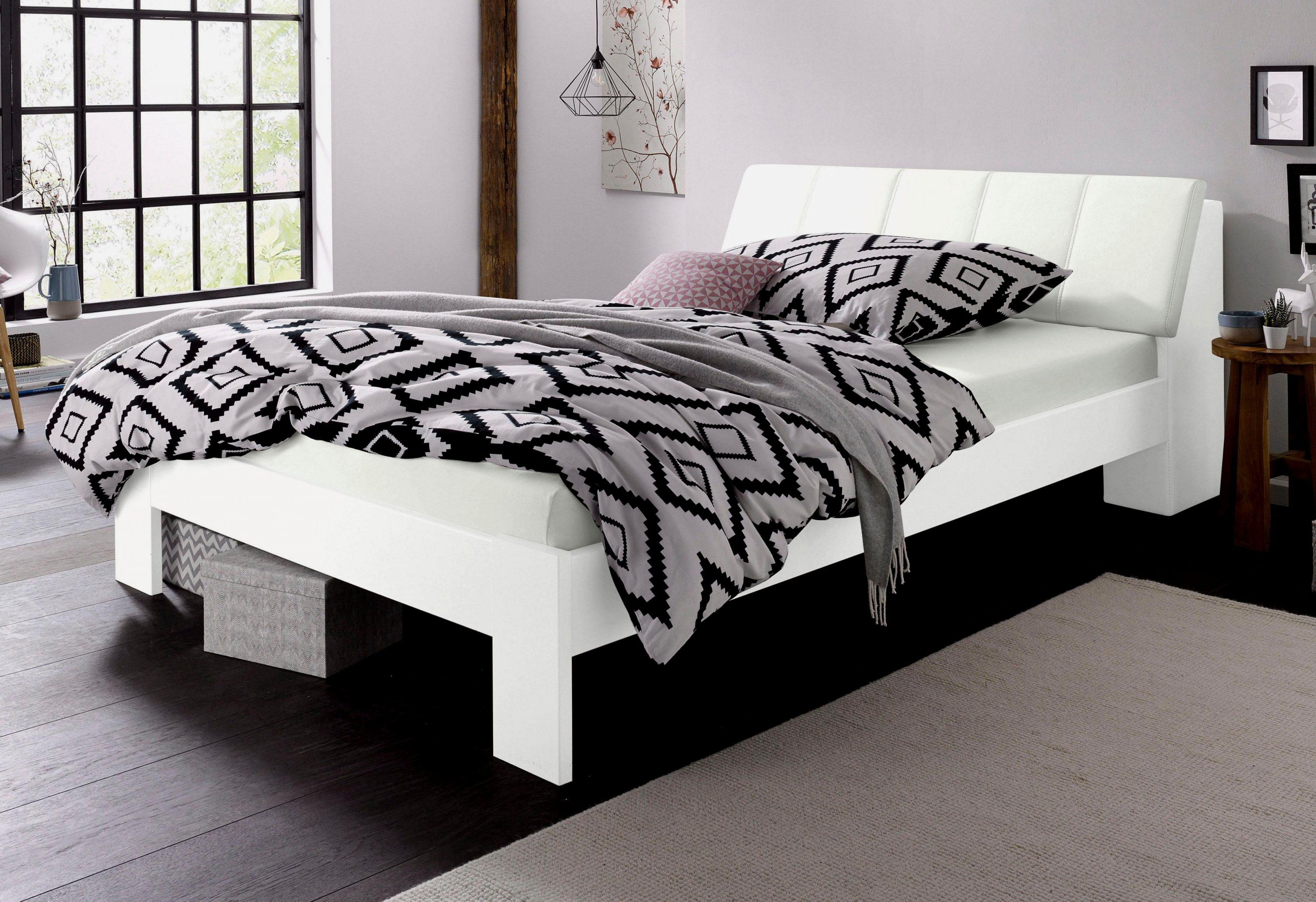 Atemberaubend Bett Zwei Matratzen Luxus Boxspringbett Mit Matratze von Bett Zwei Matratzen Photo
