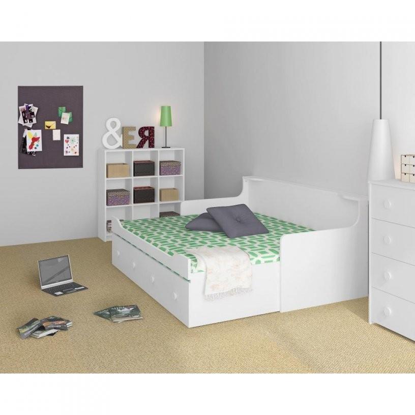 Ausziehbett Für Kinder Und Erwachsene 80160X200 Cm Preiswert von Bett Mit Ausziehbett Und Schubladen Bild
