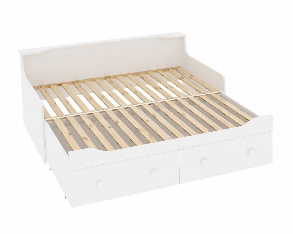 Ausziehbett Für Kinder Und Erwachsene 80160X200 Cm Preiswert von Bett Zum Ausziehen Mit Schubladen Bild