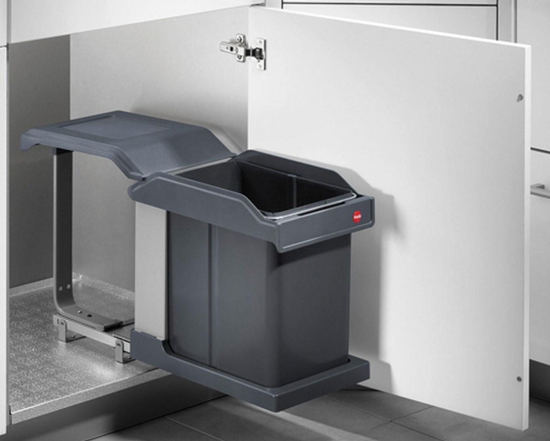 Auszug Mülleimer Küche  Einbau Küchen Mülleimer Treteimer 2X15 von Mülleimer Küche Automatischer Auszug Photo