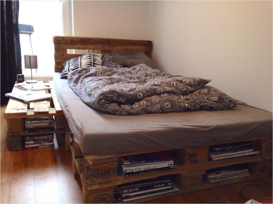 Awesome Ideas Paletten Bett 140X200 Elegantes Selber Bauen Kreativ von Bettgestell 140X200 Selber Bauen Bild