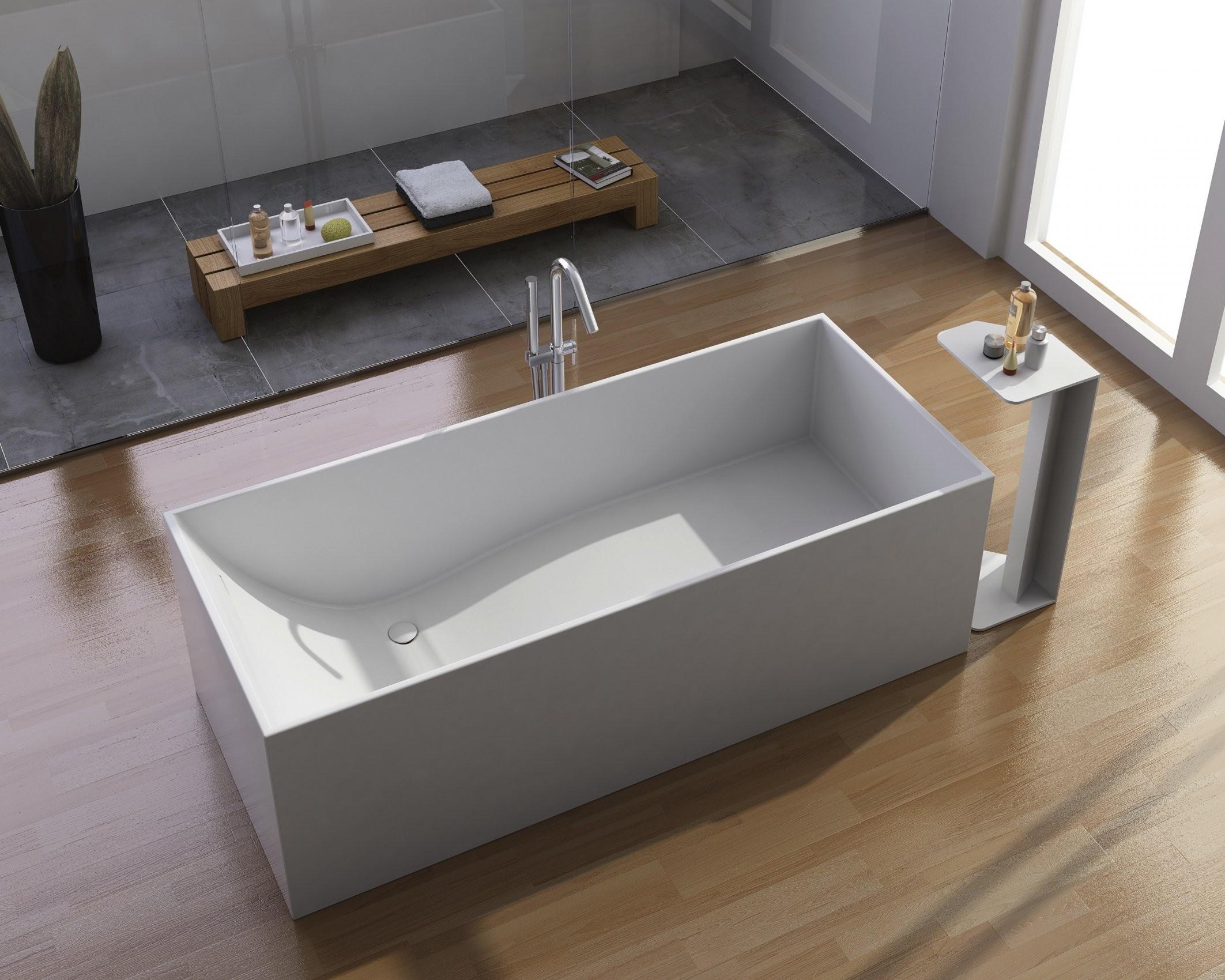 Badewanne Eckig Freistehend Haus Ideen von Badewanne Eckig Freistehend Bild