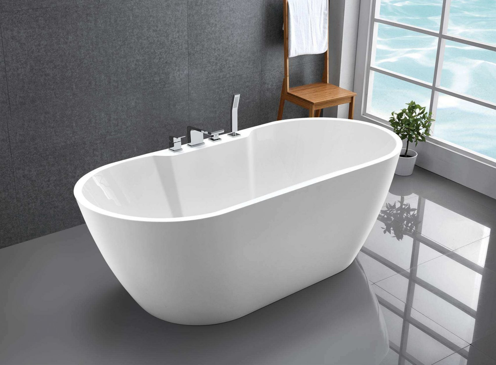 Badewanne Freistehend Günstig  Badezimmer von Badewanne Freistehend Günstig Photo