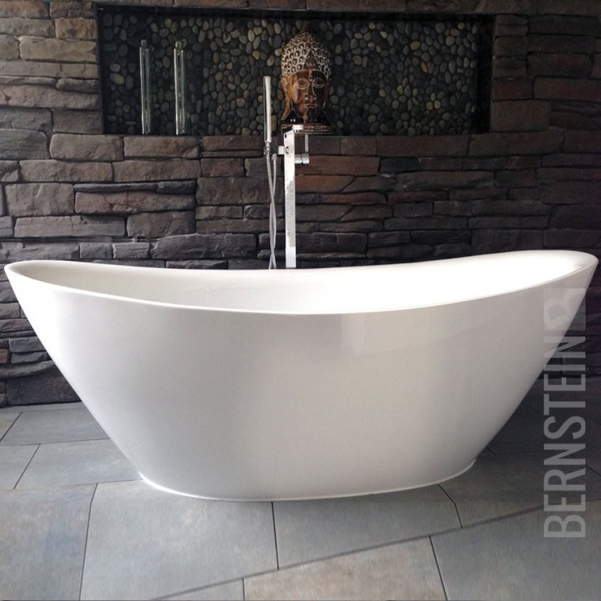 Badewanne Freistehend Günstig Design Idee  Casadsn von Günstige Freistehende Badewanne Photo