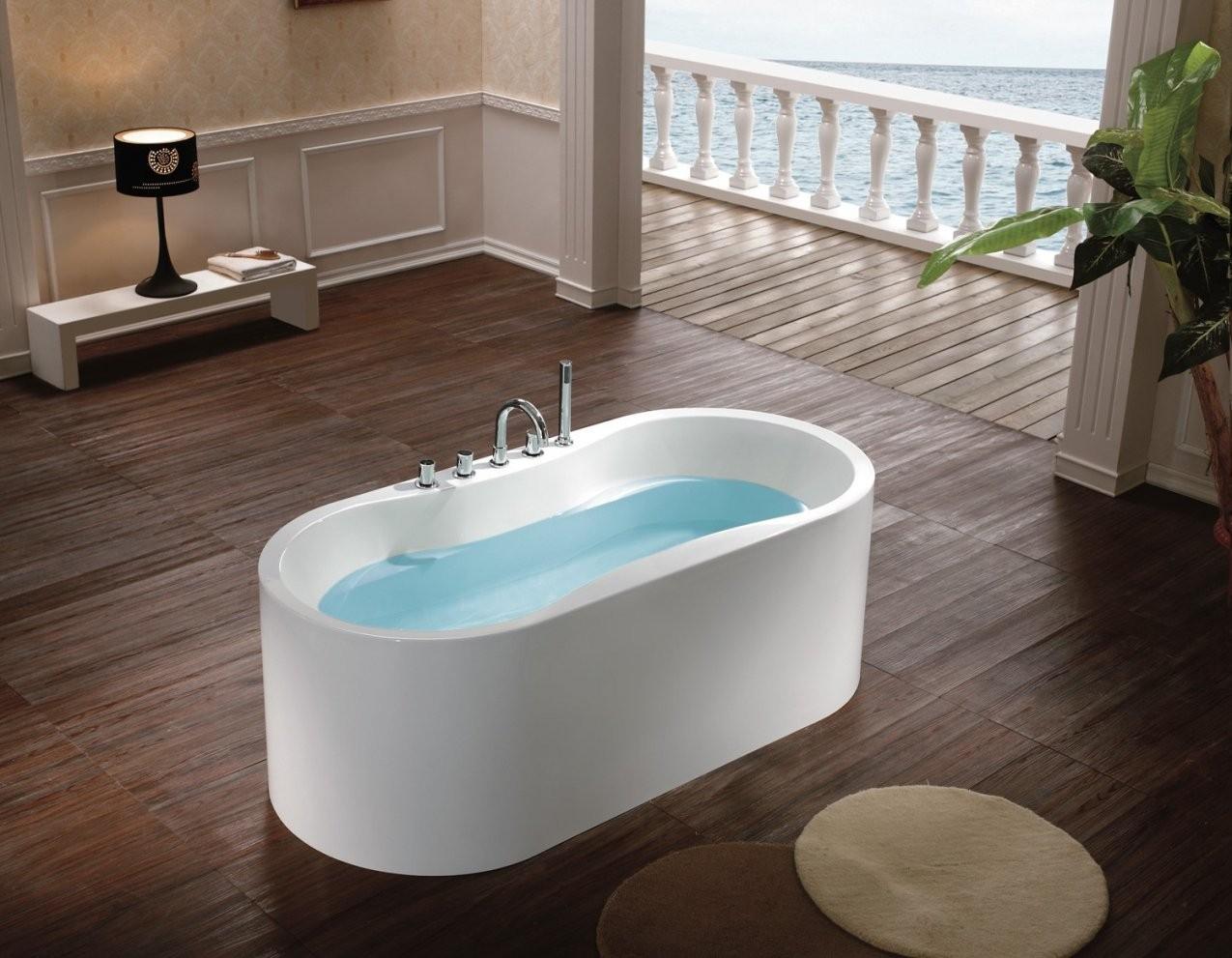 Badewanne Freistehend Günstig Kaufen Badewanne Freistehend Kaufen von Freistehende Acryl Badewanne Günstig Bild