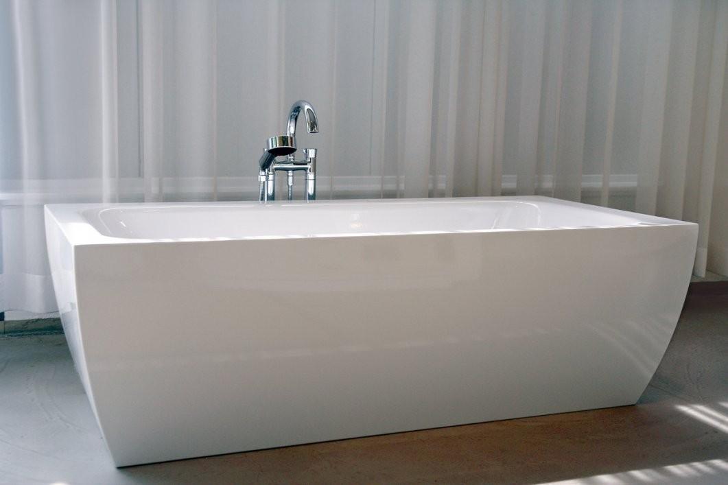 Badezimmer  Badewannen  Expertentipps von Freistehende Badewanne Eckig Bild