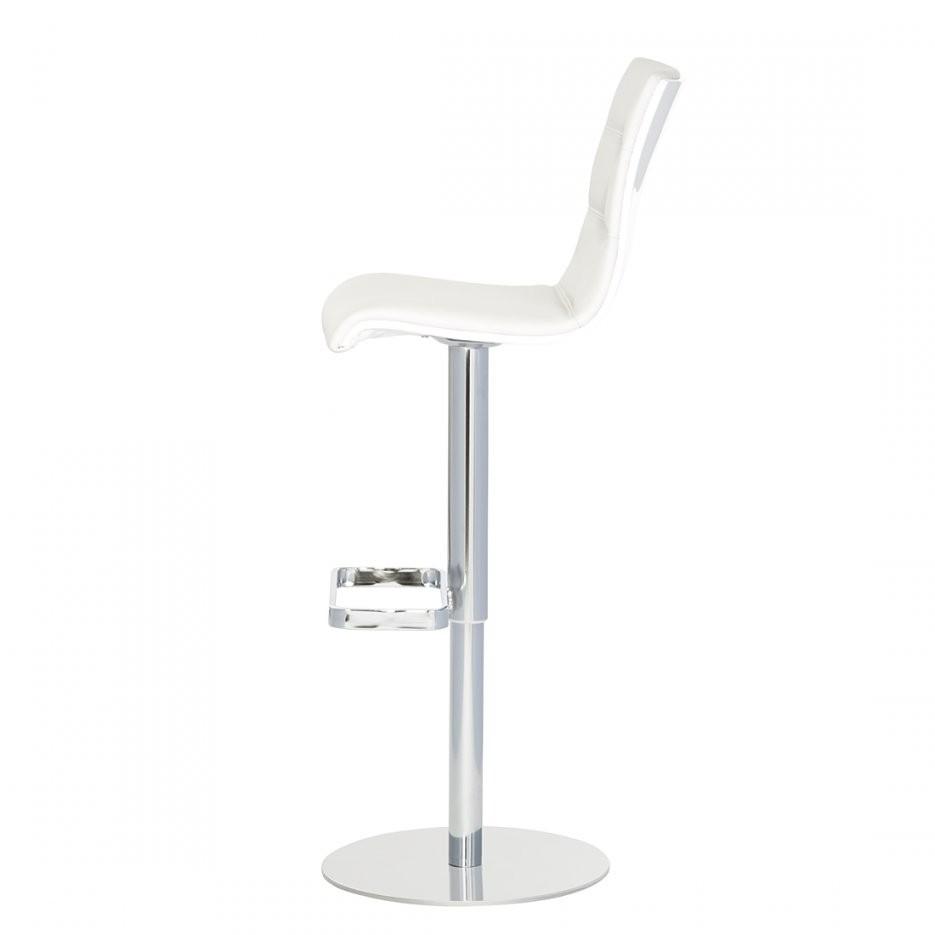 Barhocker Weiß Leder Fesselnd Auf Kreative Deko Ideen Auch Echtleder von Barhocker Leder Weiß Photo