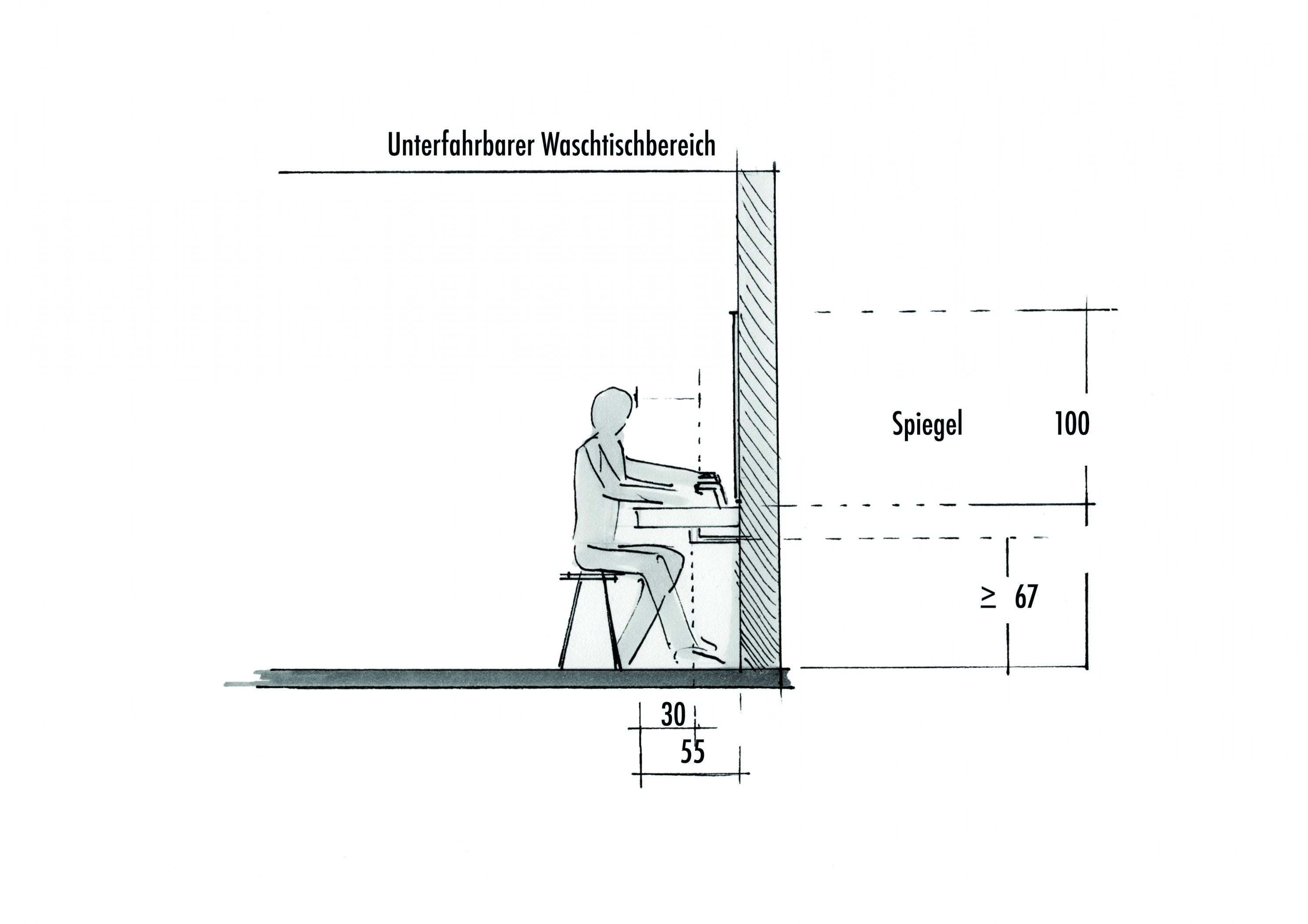 Barrierefreies Bad – Schaffen Sie Sich Bewegungsfreiheit  Obi von Höhe Waschbecken Bad Bild