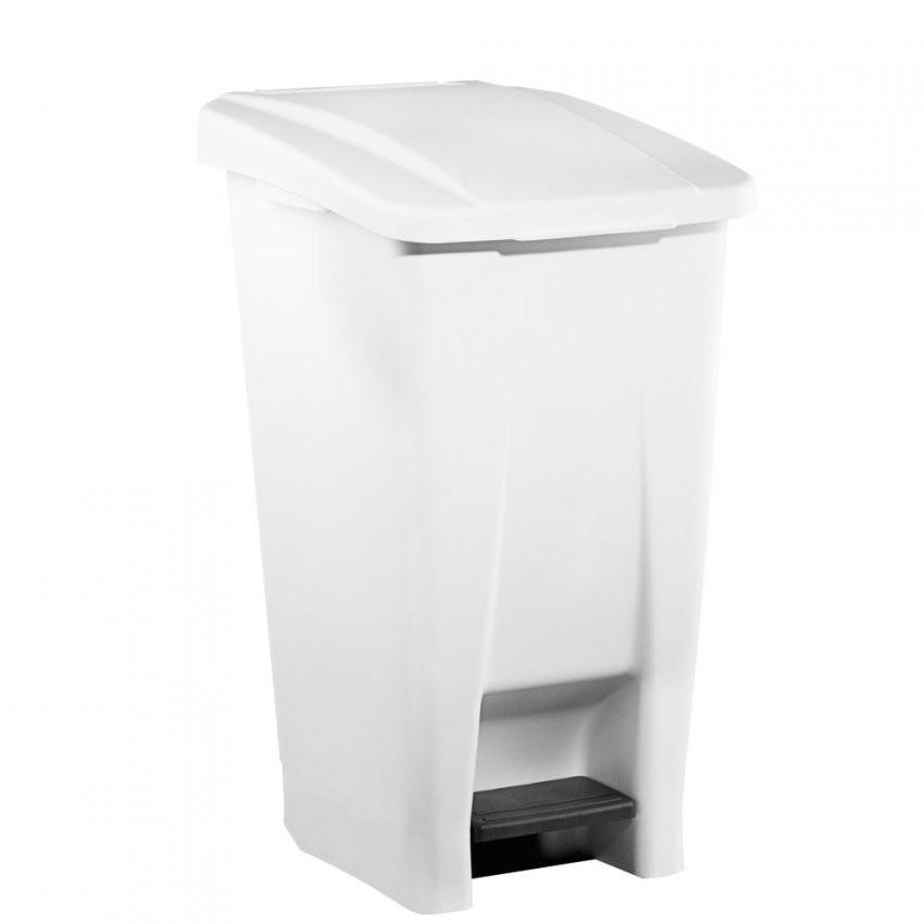 Basic Tretabfalleimer 60 L  49 X 38 X 70 Cm  Tretabfalleimer von Abfalleimer Küche 60 Liter Bild