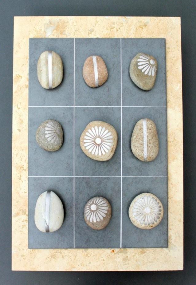 Basteln Mit Steinen Dekorieren Sie Hübsch Ihr Haus Garten Avec von Steine Kleben Garten Photo