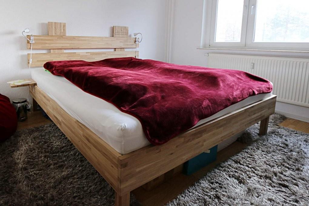 Bauanleitung Massivholzbett  Übergröße Holzzuschnitt Kosten von Bauplan Bett 200X200 Photo