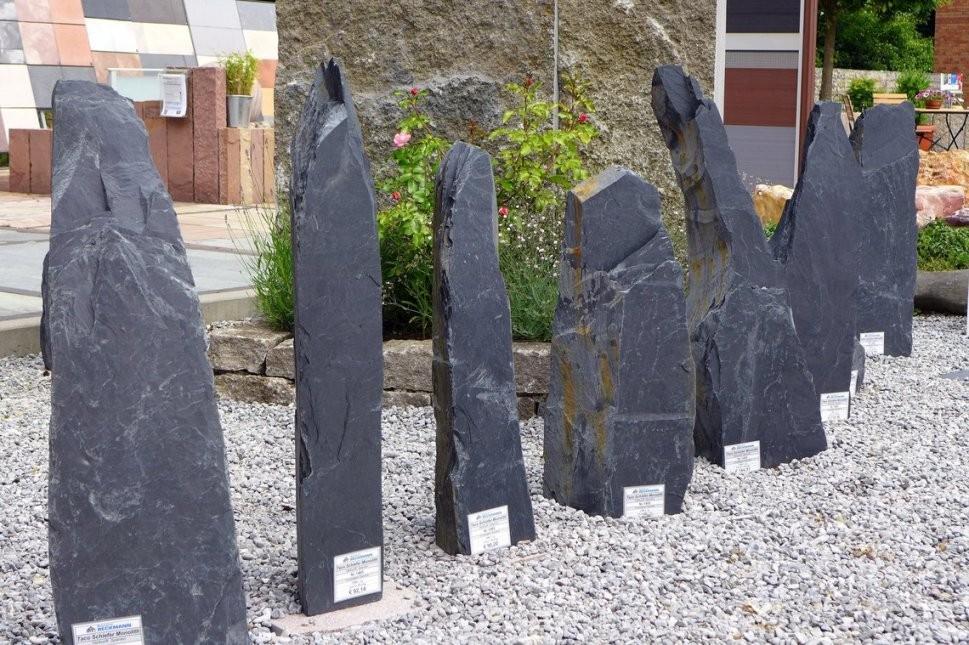 Bauzentrum Beckmann Felsen+Säulen von Steinsäulen Für Den Garten Bild