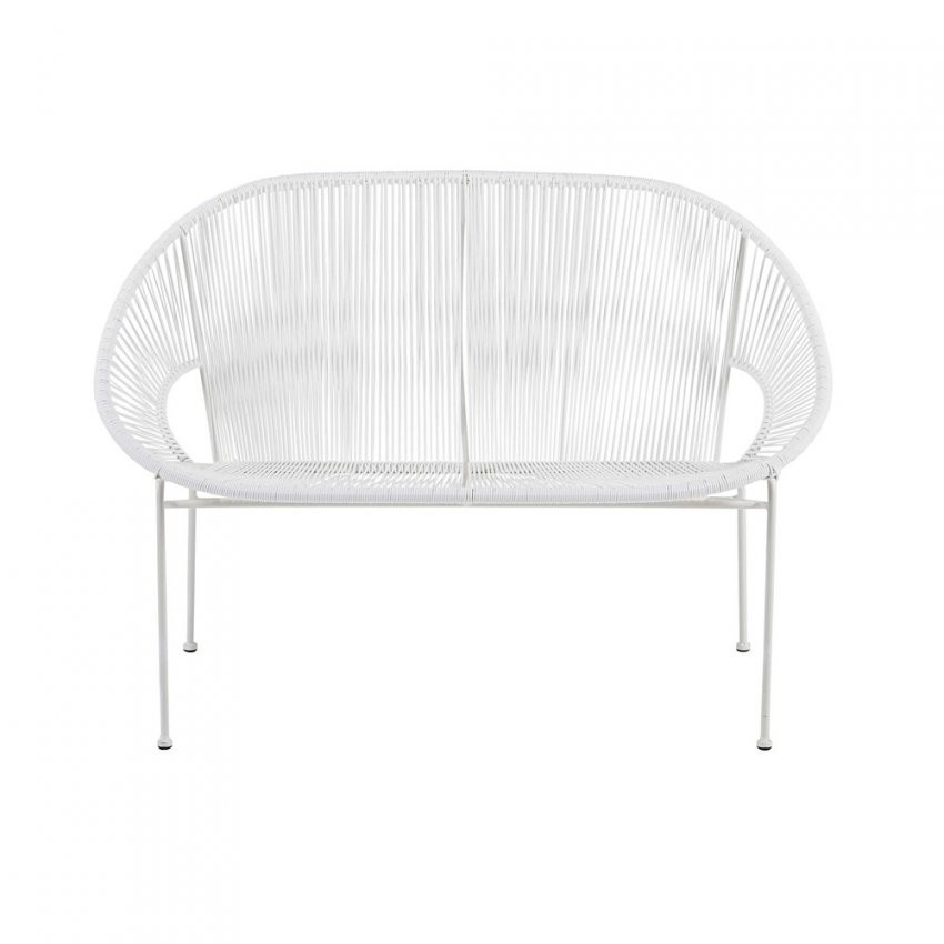 Benedomi Gartenbänke Online Kaufen  Möbelsuchmaschine  Ladendirekt von Gartenbank Weiss Metall Bild