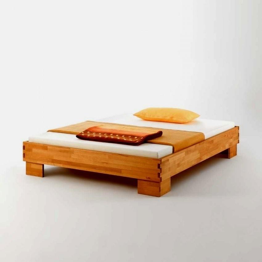 Bescheiden Bett 140X200 Ohne Kopfteil Schön Massivholzbett Juliama von Bett Ohne Kopfteil 140X200 Bild