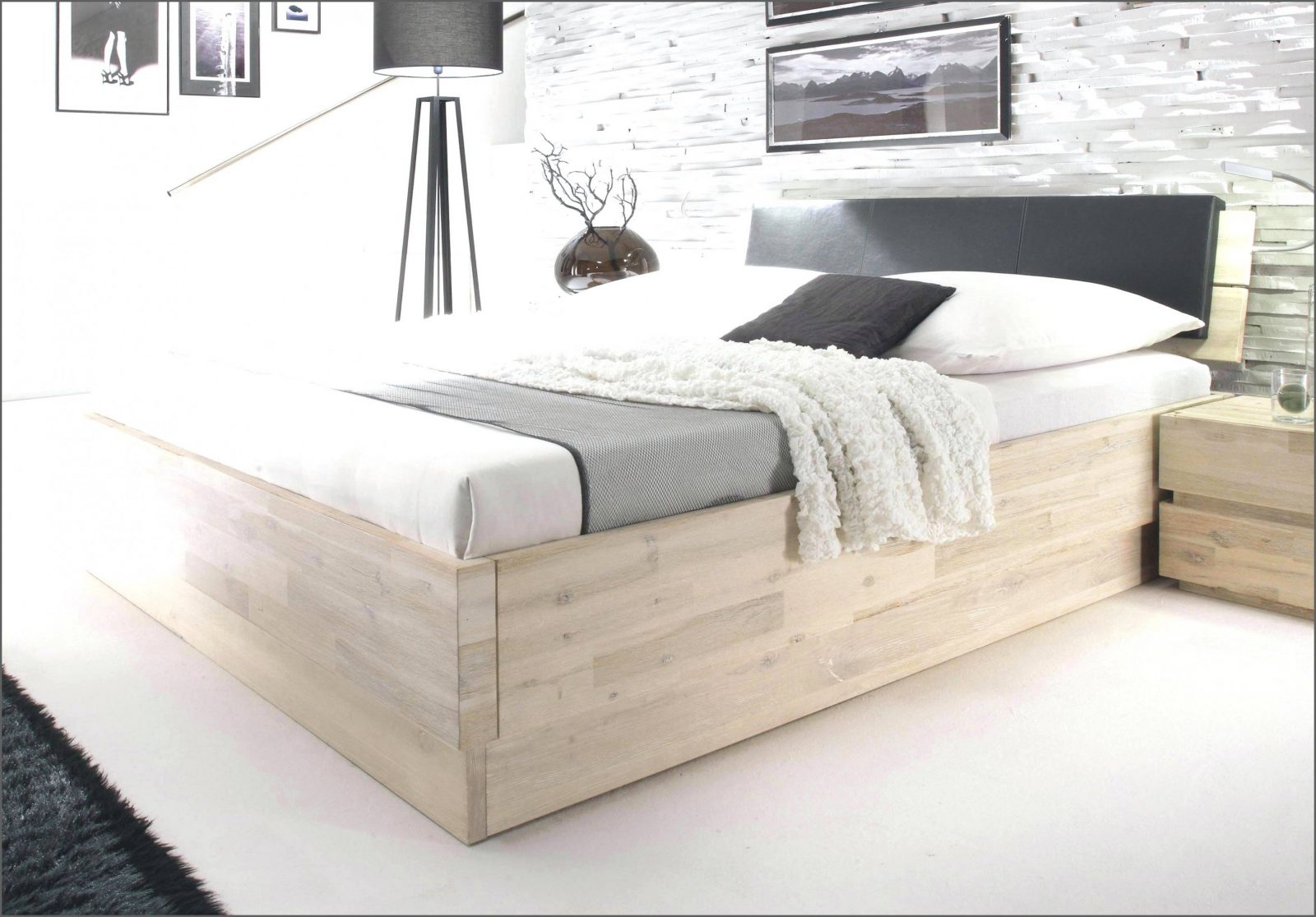 Beste 40 Polsterbett 180X200 Mit Bettkasten Komforthöhe Konzept von Polsterbett 180X200 Mit Bettkasten Komforthöhe Bild
