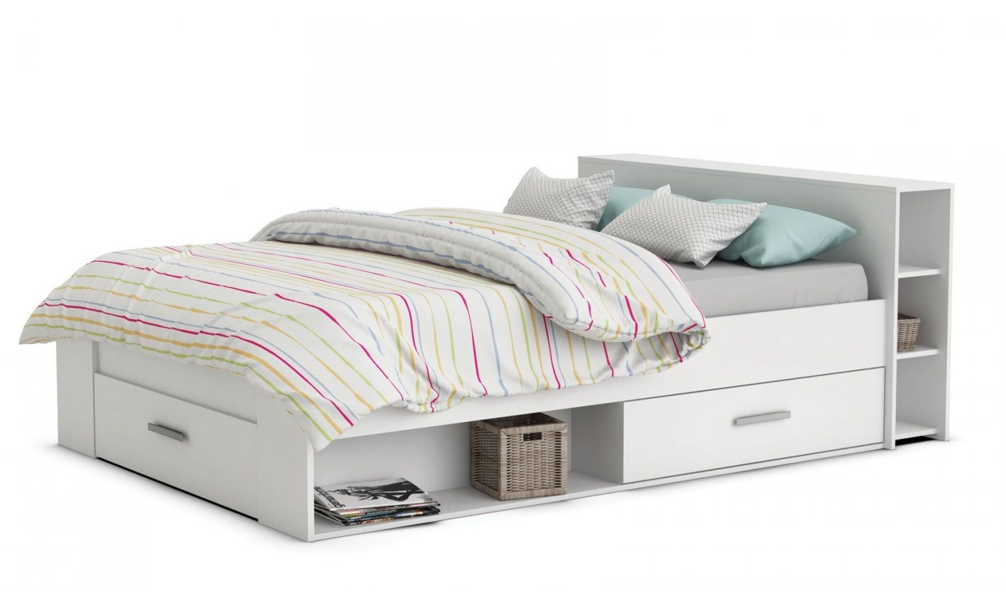 Bett 120X200 Gebraucht Mit Bettkasten Gunstig Billig Poco Holzbett von Otto Betten 120X200 Bild