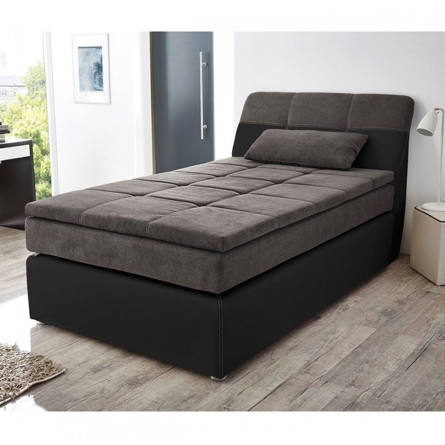 Bett 120X200 Otto Mit Gebraucht Bettkasten Betten Schwarzbraun Weis von Otto Polsterbett Mit Bettkasten Bild