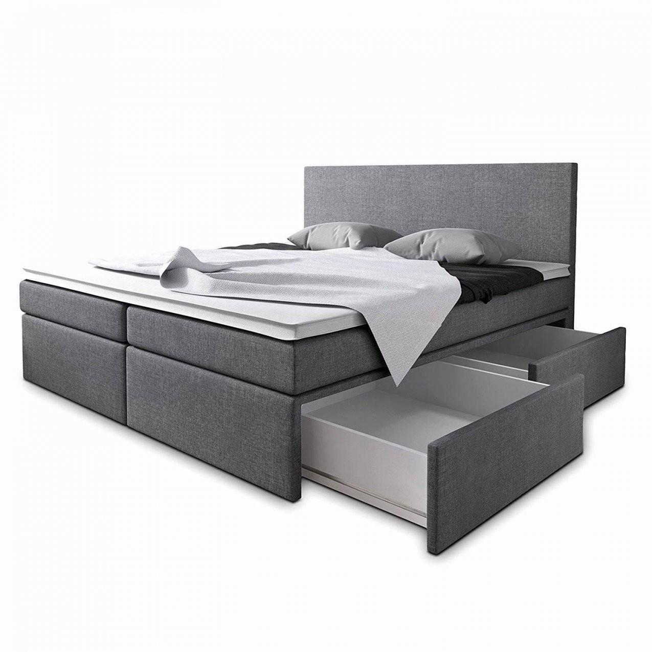 Bett 140×200 Bettkasten Neu Boxspringbetten Günstig Bis Zu Reduziert von Bett 140X200 Mit Bettkasten Günstig Bild