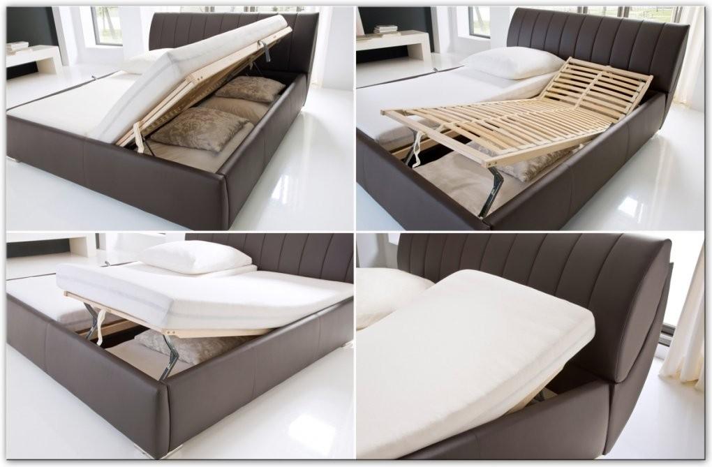 Bett 140X200 Mit Bettkasten Günstig Nett Designer Lederbett von Bett Mit Bettkasten Günstig Bild