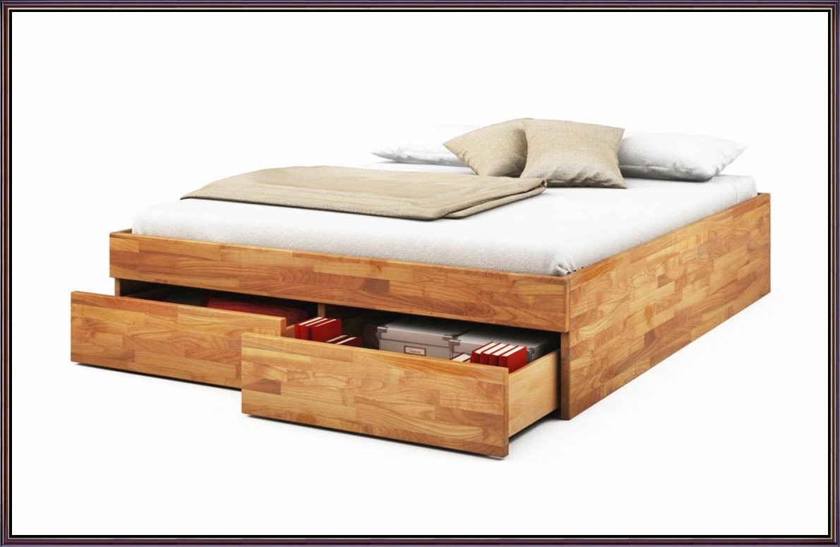 Bett 140X200 Selber Bauen Bettgestell0X200 Holz Gebraucht Mit von Bettgestell 140X200 Holz Bild